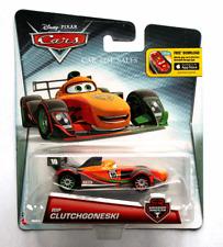 DISNEY PIXAR CARS RIP CLUTCHGONESKI CARBON RACERS 2016 IMPERFECT PACKAGING