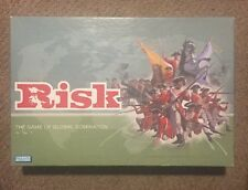 2003 RISK BOARD GAME - THE GAME OF GLOBAL DOMINATION - MINT-PIECES STILL SEALED!