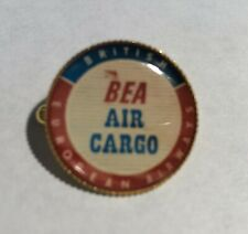 BEA Air Cargo Retro Gold Plated Badge & BEA Cell Sticker