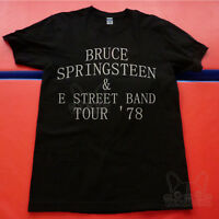 Vintage 1978 T-shirt GILDAN Bruce Springsteen & E Street Band Tour REPRINT S-XXL