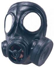 Rubber Toy Gas Mask WW2 World War 2 1940s Army Military Fancy Dress Costume