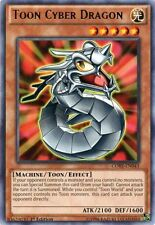 YuGiOh! 1 Toon Cyber Dragon - CORE-EN043 - Rare - 1st Edition Near Mint