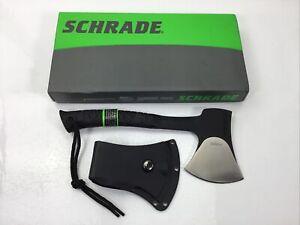 Schrade SCAXE10 Survival Hatchet Axe + Sheath