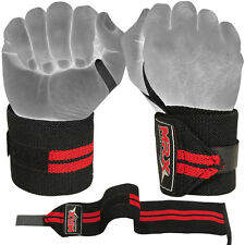 MRX Weight Lifting Training Wraps Wrist Support Gym Fitness Cotton Bandage Strap