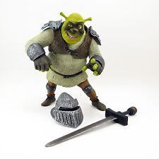 McFarlane Toys Shrek Dragon Battlin' Shrek Figure with Helmet Dreamworks