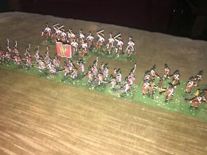 52 Painted 1/72 Napoleonic Austrian Landhwer Infantry - Cavalry Regt & Artillery