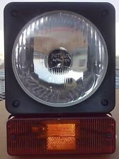 Head Lamp/ Head Light + Indicator Assy. JCB and Johndeer- 12V