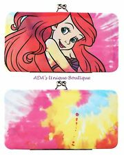 Loungefly Disney The Little Mermaid Ariel Tie Dye Kisslock Hinge Wallet NWT
