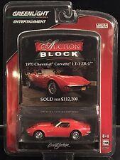 Greenlight Auction Block 1970 Chevrolet Corvette LT1 ZR1 krg0395