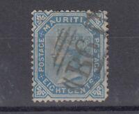 Mauritius Seychelles QV 1879 8c Blue SGZ48 Fine Used J5847