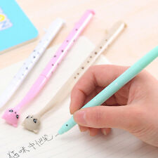 Cartoon Black Ink Cat 0.38mm Gel Pen Student Ball Point Pen Stationery Gift