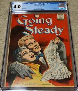 Going Steady #14 CGC 4.0 Matt Baker Cover St. John Golden Age Romance
