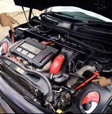 MINI BMW R52 R53 R50 JCW Engine Bay Chassis Rod Strut Brace Support Bars + Bolts