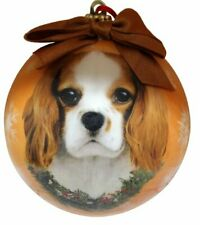 King Charles Cavalier Christmas Ornament Shatter Proof Ball Easy To Personalize