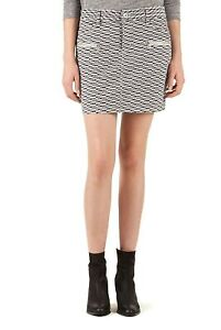 NEW WITH TAGS! Country Road Pink Cord Mini Skirt Size 16 RRP $99