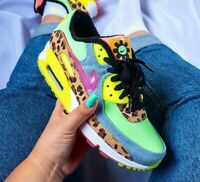 Nike Air Max 90 LX - Illusion Green / Sunset Pulse - Sizes 3-8UK CW3499-300