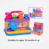 Funtime Pop up Friends Baby Toddler Activity Educational Toy with Hammer 18m+ UK