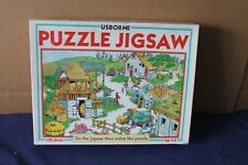Usborne Puzzle Jigsaw 100 pieces complete with Box