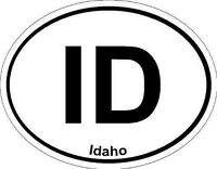 Oval (Idaho); State Bumper Sticker