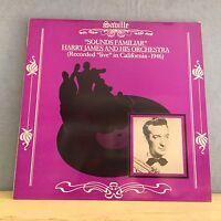 HARRY JAMES Sounds Familiar 1982 UK  Vinyl LP EXCELLENT CONDITION live 1946