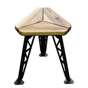 Stool Bar Stool Chair Industrial Stool with steel legs Kitchen Stool 43cm height