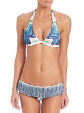 Missoni Mare Multicolor Two Piece Fringe Bikini Size 46 US 10 $865