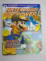 NINTENDO POWER MAGAZINE #128 - MARIO PARTY 2 + COMIC & NP 2000 CALENDAR