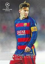 2015-16 Topps UEFA Champions League Showcase Soccer Cards Complete Set (1-200)