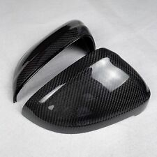 for Audi A5 S5 2017 car mirror cover cap carbon fiber surface Replacement