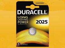 100 x DURACELL CR2025 DL2025 3V BLISTER di litio bottone CELLA BATTERIE