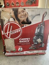 Hoover Power Scrub Deluxe Red Upright Vacuum Cleaner (FH50150)