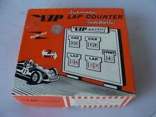 VIP RACEWAYS LAP COUNTER REF R-51  - EXCELLENT/BOXED!!