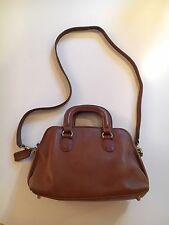 VTG COACH BONNIE CASHIN MADISON SATCHEL PURSE Brown Leather Crossbody Bag Fall