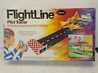 RARE FLIGHT LINE PILOT TRAINER AIRPLANE TOY YOU CONTROL line BY RAPCO  Cox