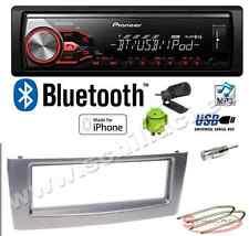 Pioneer MVH-390BT autoradio USB / bluetooth + Kit montaggio per Fiat Grande pun