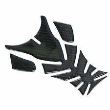 Motorcycle Gas Oil Fuel Tank Cover Fuel Sticker Pad Carbon Fiber for Kawasaki US