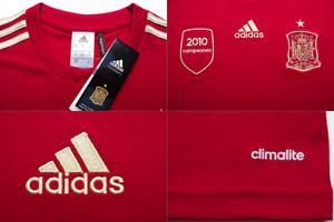adidas Spain Espana FEH Climalite National Football Team Shirt rrp£40 (XL) SALE