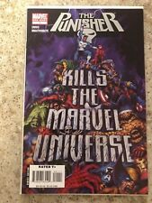 THE PUNISHER KILLS THE MARVEL UNIVERSE # 1. 2008 EDITION.