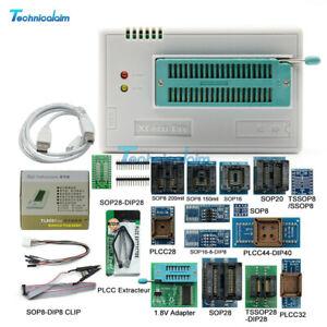 TL866II Plus V9.16 Programmer + Full Adapters + SOP8 IC Flash EPROM Programmer