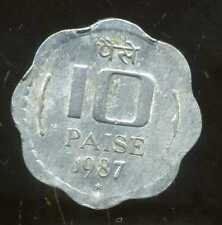 INDE 10 paise 1987