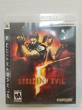 Resident Evil 5 - Playstation 3 Video Game (VG19)