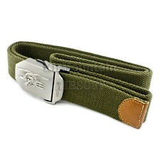 "US Navy Seal Tactical Metal Buckle 1.5"" Nylon Belt / Green (KHM Airsoft)"