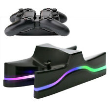 For Sony PS4 Playstation4 Controller LED Dual USB Charger Station Charging Dock