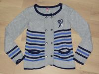 joli GILET style marinière, marque ORCHESTRA, taille 8 ans, TBE
