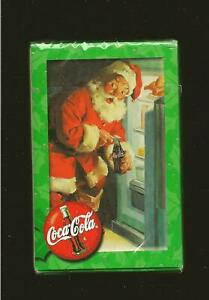 Coca Cola Santa Claus Bicycle Playing Cards Sealed in Original Package