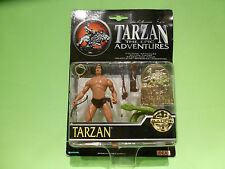 IDEAL ACTION FIGURE TARZAN THE EPIC ADVENTURES  - BONUS BADGE - UNOPENED BOX