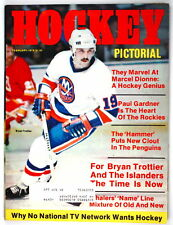 (#750)Bryan Trottier on cover of Hockey Pictorial 1978