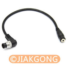 CANON RS-60E3 jack to NIKON MC-30 plug Convert Adapter