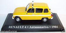 ALTAYA TAXI RENAULT 4 ANTANANARIVO TANANARIVE 1984 MADAGASCAR 1/43 blister BOX