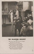 POSTCARD  SONG CARDS   The Volunteer Organist  (2)